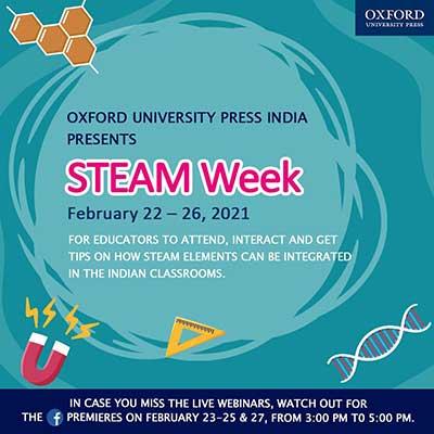 Oxford University Press (OUP) STEAM Week February 22 – 26, 2021